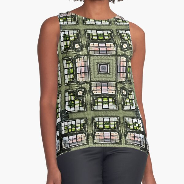 Obscura Square Sleeveless Top