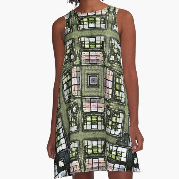 Obscura Square A-Line Dress