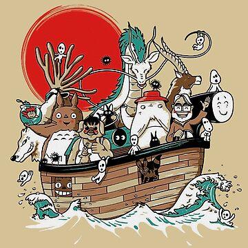 Miyazaki's Ark by sofich