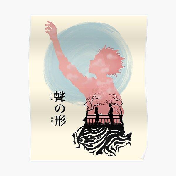 Koe no Katachi Silhouette Poster