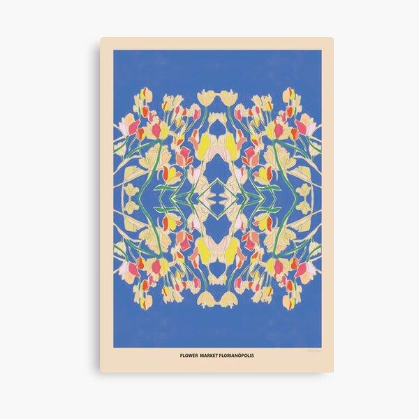 Flower Market - Florianopolis Canvas Print