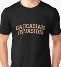 CAUCASIAN INVASION Unisex T-Shirt