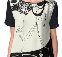 Aubrey Beardsley - Fantasy Illustration - Salome Chiffon Top