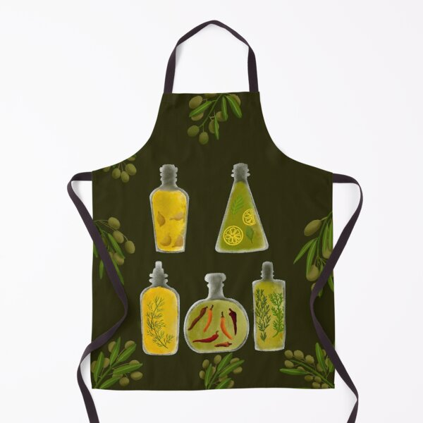 Olive Oil Set Apron