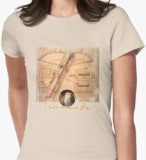 leonardo inventor  Women's Fitted T-Shirt