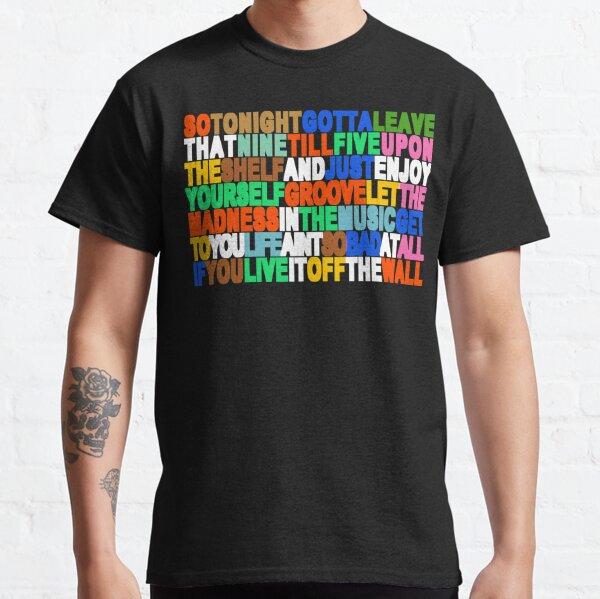 Off The Wall - Michael Jackson Camiseta clásica