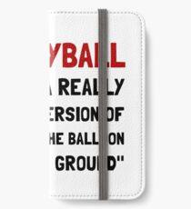 Volleyball Balloon iPhone Wallet/Case/Skin