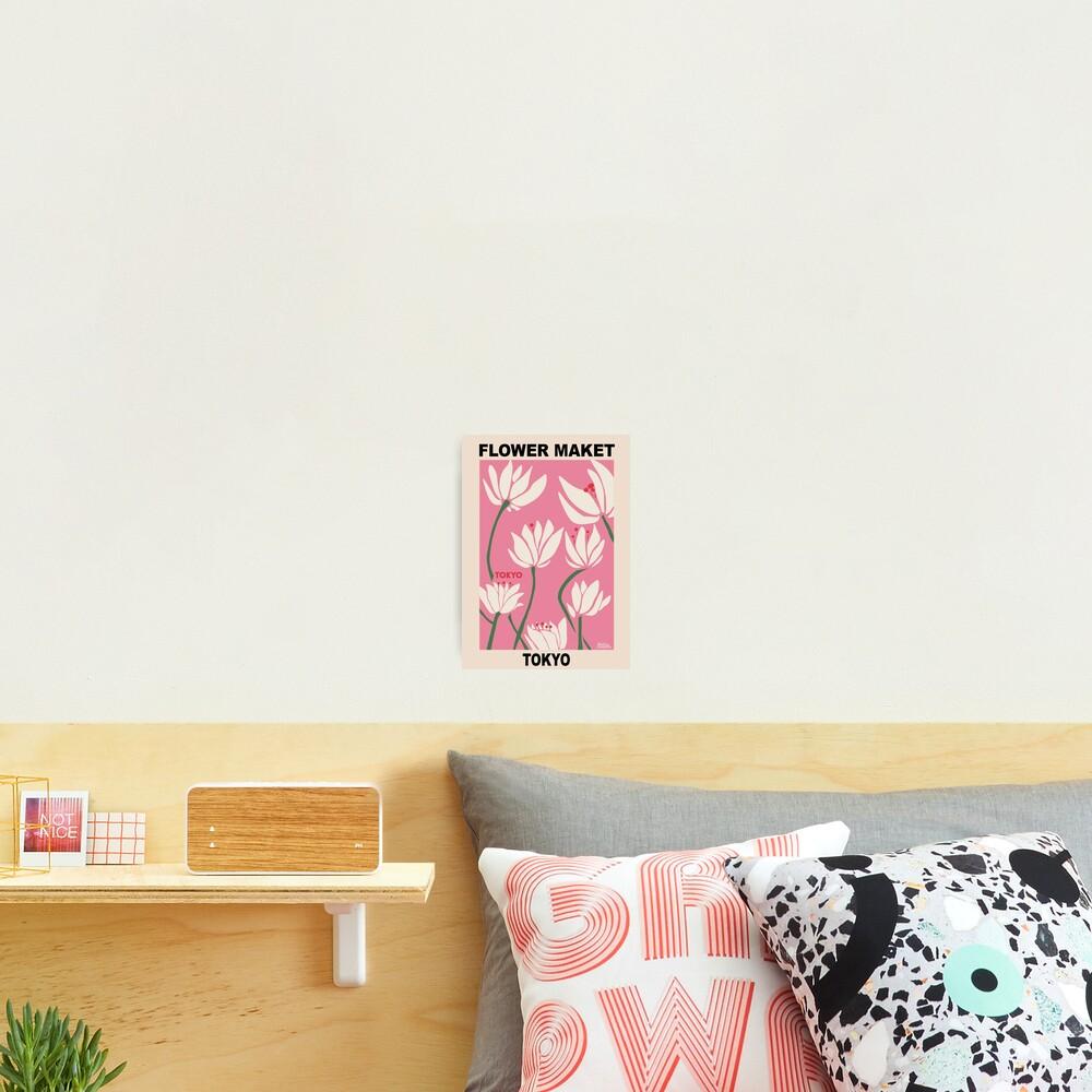 Flower Market - Tokyo Pink Photographic Print