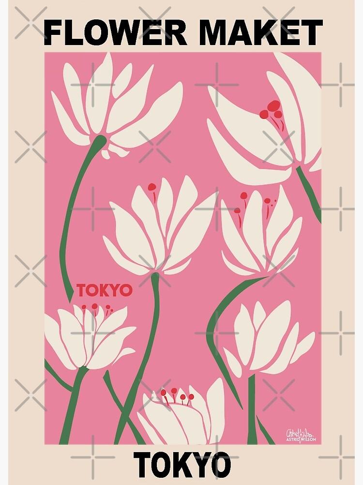 Flower Market - Tokyo Pink by tomgottschalk