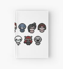 The Binding of Isaac characters Hardcover Journal