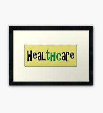 healthcare Framed Print