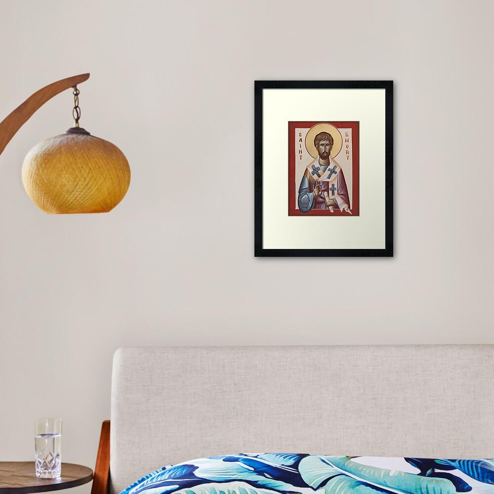 St Timothy Framed Art Print