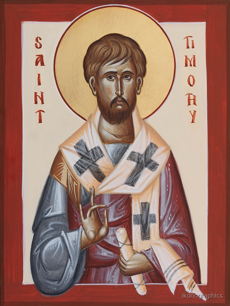 St Timothy by ikonographics