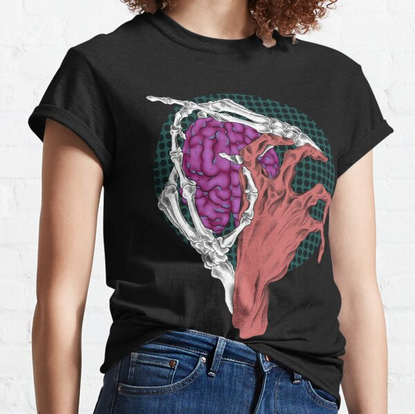Hands, Brain Classic T-Shirt