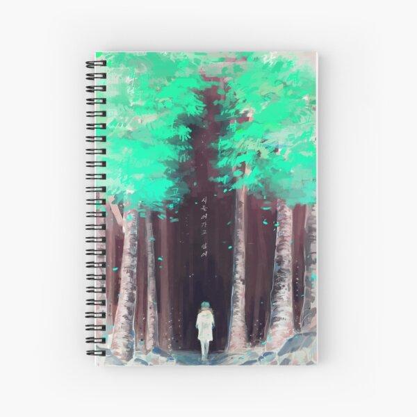 화양연화 - Dead Leaves - Inverted Spiral Notebook