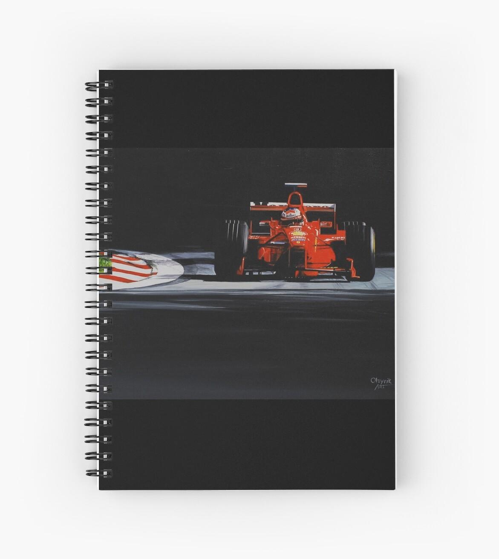 Michael Schumacher, Ferrari F300 by Artem Oleynik
