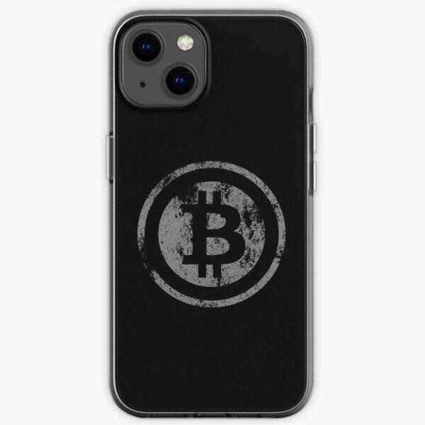 Vintage Bitcoin logo iPhone Soft Case