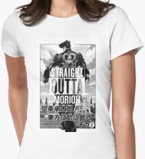 Josuke-straight outta morioh Womens Fitted T-Shirt
