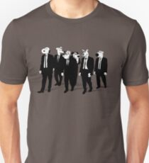 RESERVOIR HOUNDS (b&w) T-Shirt