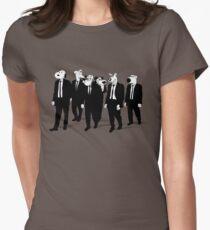 RESERVOIR HOUNDS (b&w) Womens Fitted T-Shirt