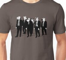 RESERVOIR HOUNDS (b&w) Unisex T-Shirt