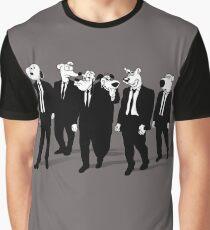RESERVOIR HOUNDS (b&w) Graphic T-Shirt