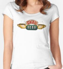 Central Park  Women's Fitted Scoop T-Shirt