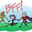 KOTOR - Best Friends Forever! by kickgirl