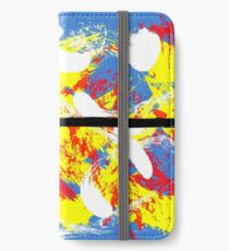 Abstract Expressionism iPhone Wallet/Case/Skin