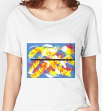 Abstract Expressionism Women's Relaxed Fit T-Shirt