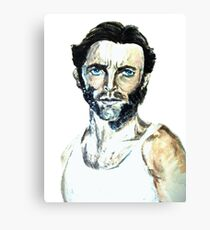 Wolverine Jackman Canvas Print