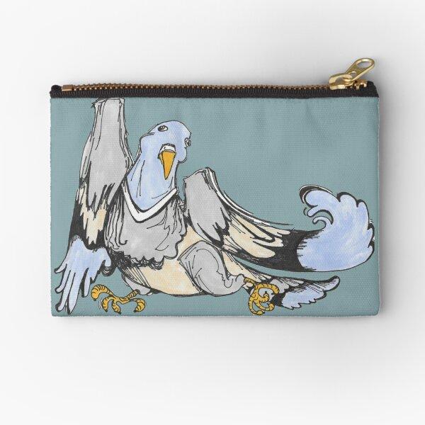 Pigeon Dance Zipper Pouch