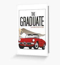 Alfa Romeo Duetto from the Graduate Greeting Card