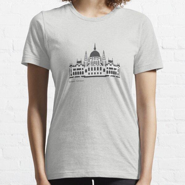 Budapest Parliament Landmark Icon Essential T-Shirt