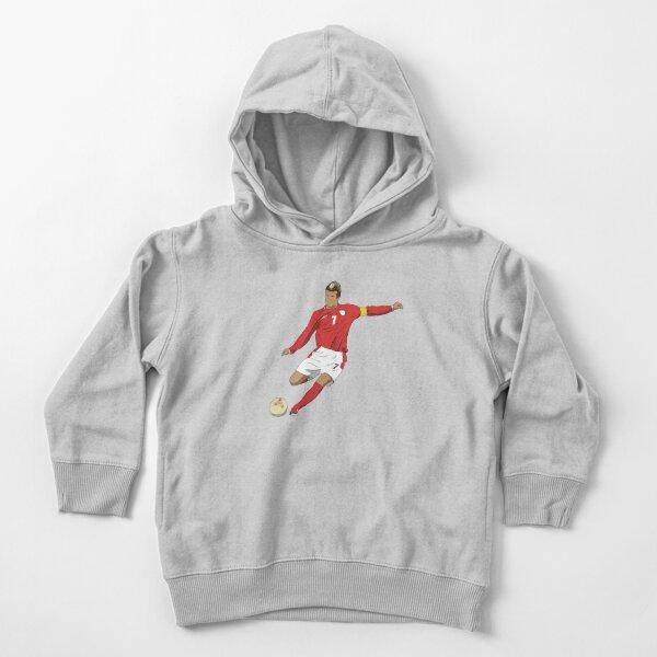 David Beckham Free Kick  Toddler Pullover Hoodie