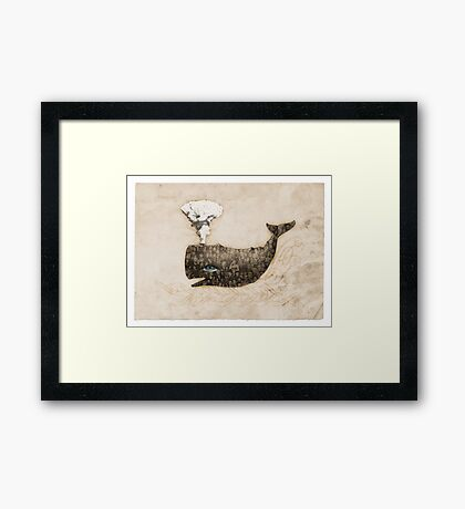 Belly of the Whale Framed Print