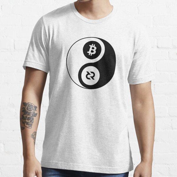 Decred Yin Yang ™ v1 'Design timestamped by https://timestamp.decred.org/' Essential T-Shirt