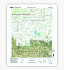 USGS TOPO Map Alabama AL Landersville 304361 2000 24000 Sticker