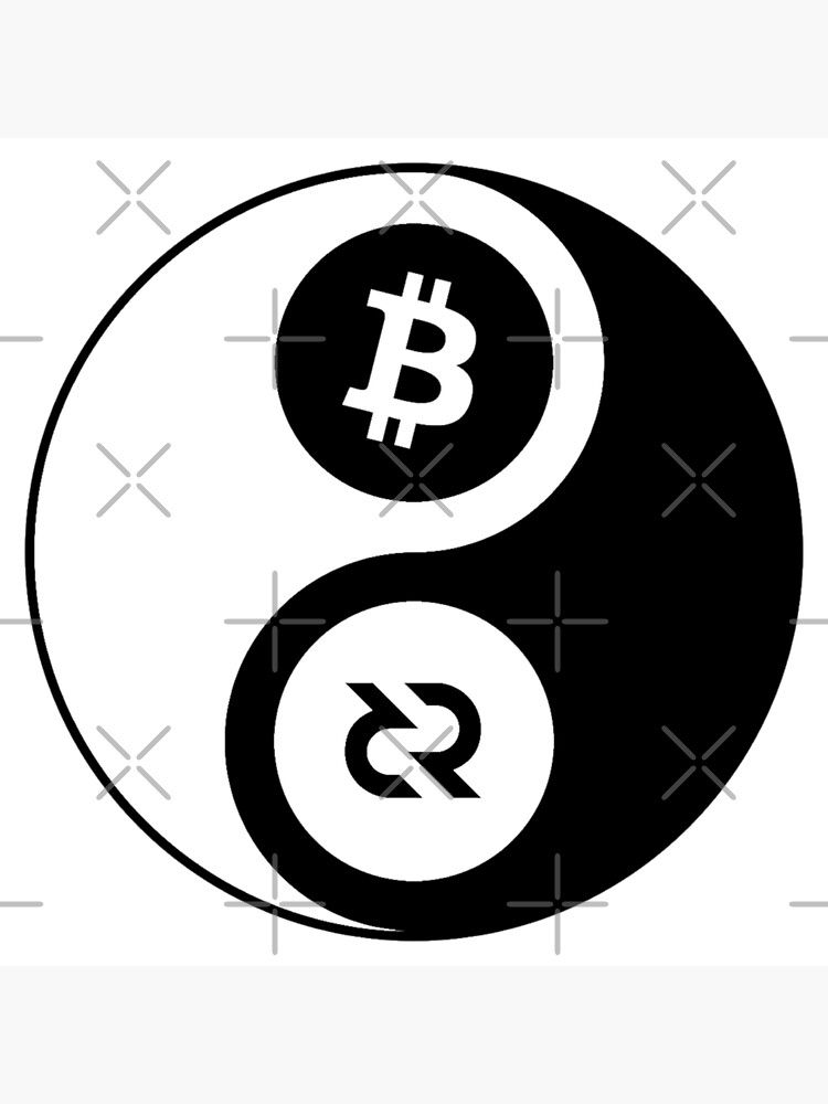 (sticker) Decred Yin Yang ™ v2 'Design timestamped by https://timestamp.decred.org/' by OfficialCryptos
