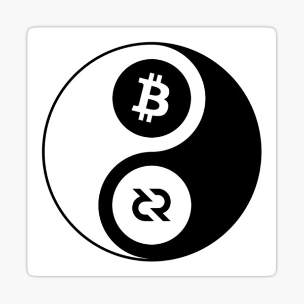 (sticker) Decred Yin Yang v2 Sticker