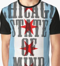 Chicago State of Mind Graphic T-Shirt