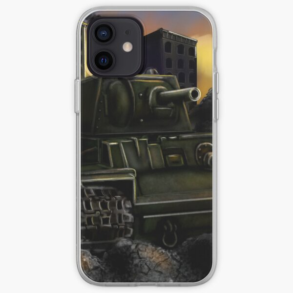 Rusty Tank iPhone Soft Case