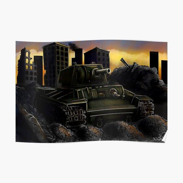 Rusty Tank Poster