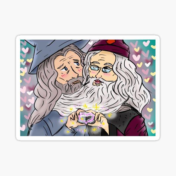 Wizard Love Sticker