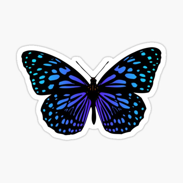 Majestic Butterfly  Sticker
