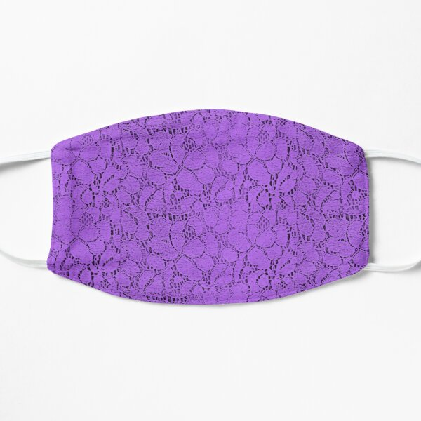 Dentelle violette Masque sans plis