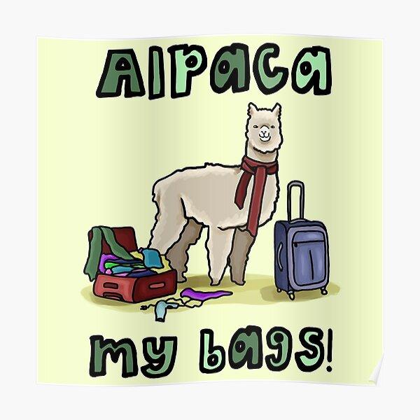 Alpaca My Bags! Poster