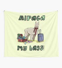 Alpaca My Bags! Wall Tapestry