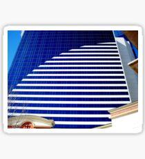 Blue Glass Tower ^ Sticker