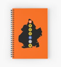 Brooklyn Subway Spiral Notebook